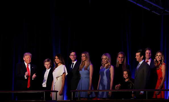Gratitude「Republican Presidential Nominee Donald Trump Holds Election Night Event In New York City」:写真・画像(18)[壁紙.com]