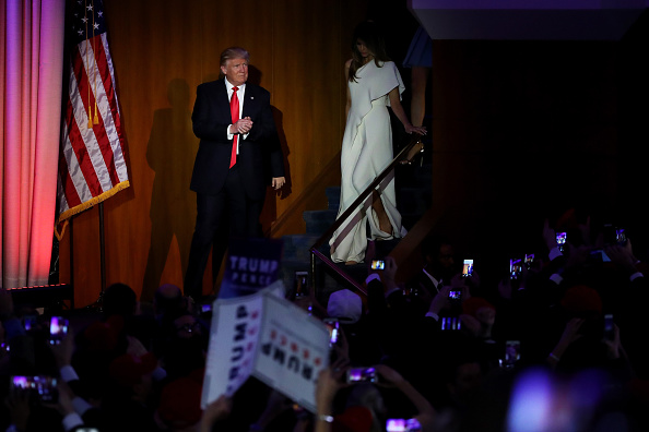 Gratitude「Republican Presidential Nominee Donald Trump Holds Election Night Event In New York City」:写真・画像(11)[壁紙.com]