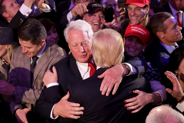 North America「Republican Presidential Nominee Donald Trump Holds Election Night Event In New York City」:写真・画像(10)[壁紙.com]