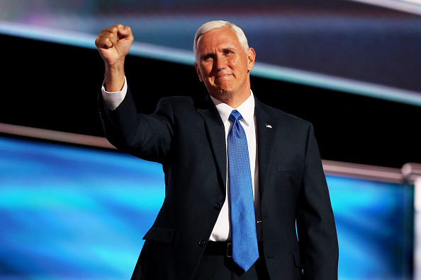 Mike Pence「Republican National Convention: Day Three」:写真・画像(17)[壁紙.com]