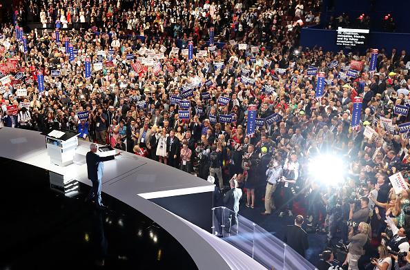 2016年共和党全国大会「Republican National Convention: Day Three」:写真・画像(18)[壁紙.com]