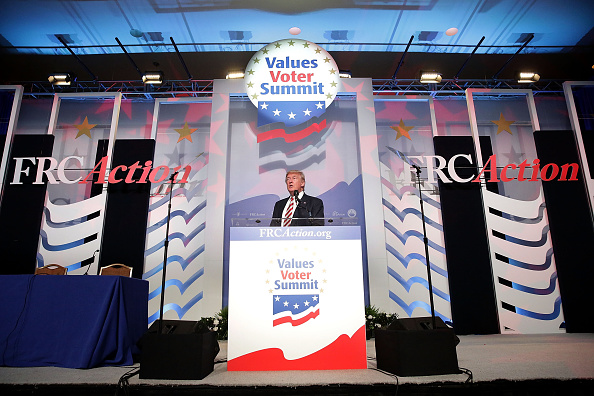 Politics「Donald Trump Speaks At The Values Voter Summit In Washington, D.C.」:写真・画像(11)[壁紙.com]