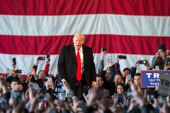 2016「Donald Trump Holds Campaign Rally In Rochester, NY」:写真・画像(0)[壁紙.com]