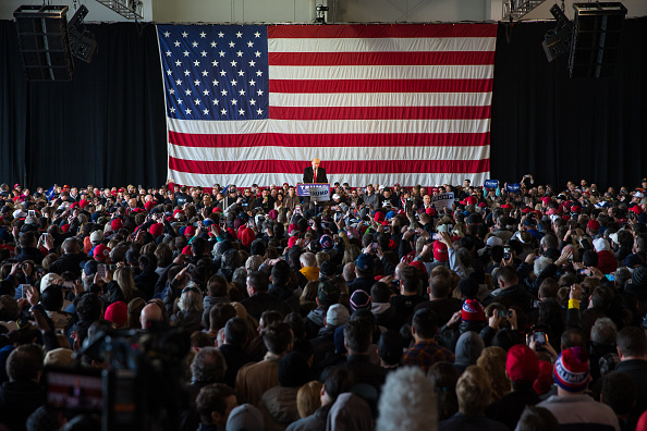 Event「Donald Trump Holds Campaign Rally In Rochester, NY」:写真・画像(10)[壁紙.com]