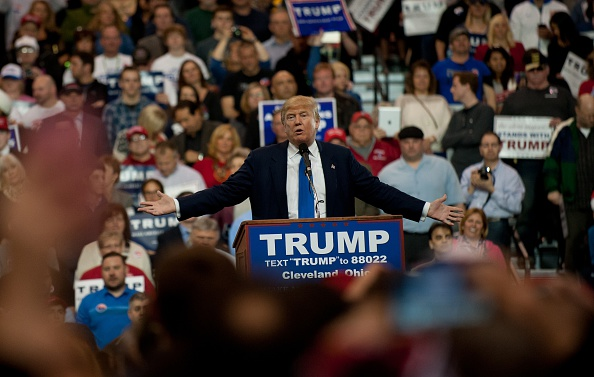 Super Tuesday「Donald trump speaks to voters in Cleveland Ohio.」:写真・画像(9)[壁紙.com]