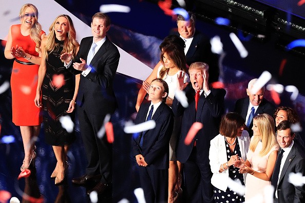 Family「Republican National Convention: Day Four」:写真・画像(17)[壁紙.com]