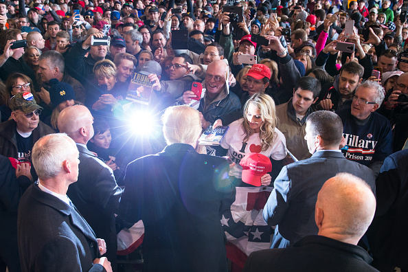 2016「Donald Trump Holds Campaign Rally In Rochester, NY」:写真・画像(8)[壁紙.com]