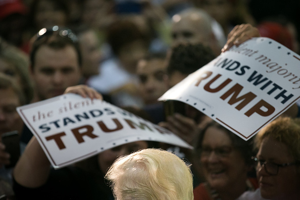 Elijah Nouvelage「Republican Presidential Candidate Donald Trump Holds Campaign Rally In San Jose, California」:写真・画像(10)[壁紙.com]