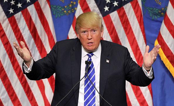 ドナルド・トランプ「Donald Trump Holds Campaign Rally In Las Vegas」:写真・画像(18)[壁紙.com]