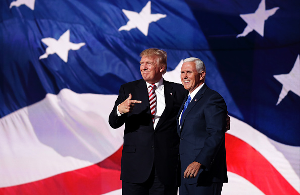 Mike Pence「Republican National Convention: Day Three」:写真・画像(16)[壁紙.com]