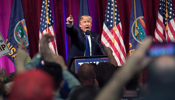 J Pat Carter「Donald Trump Campaigns In Wichita, Kansas On Day Of State's Caucus」:写真・画像(15)[壁紙.com]