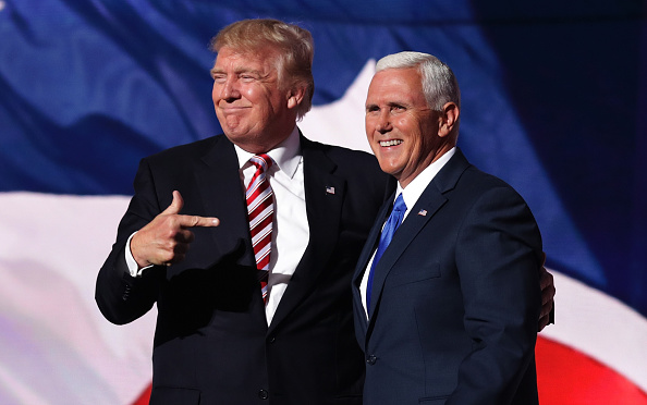 Mike Pence「Republican National Convention: Day Three」:写真・画像(2)[壁紙.com]