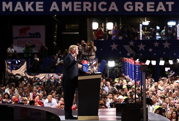 2016年共和党全国大会「Republican National Convention: Day Four」:写真・画像(15)[壁紙.com]