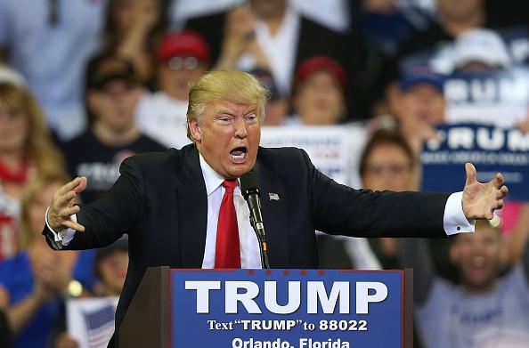 フロリダ州オーランド「Donald Trump Hold Campaign Rally In Orlando, Florida」:写真・画像(8)[壁紙.com]
