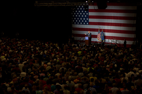 Aaron P「Donald Trump Holds Campaign Rally In Indiana」:写真・画像(17)[壁紙.com]
