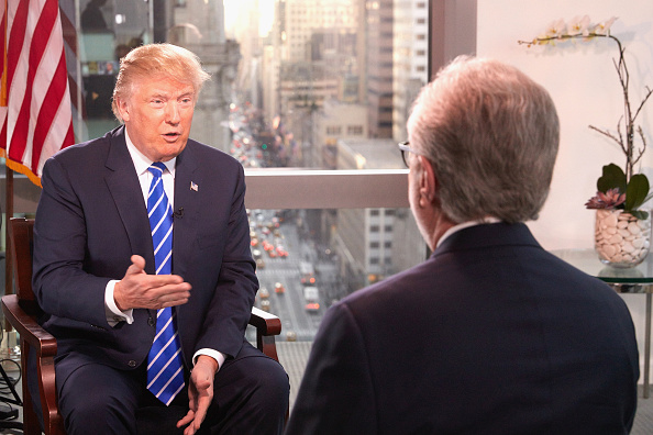 Interview - Event「Presidential Candidate Donald Trump Interviewed By Wolf Blitzer For CNN」:写真・画像(1)[壁紙.com]