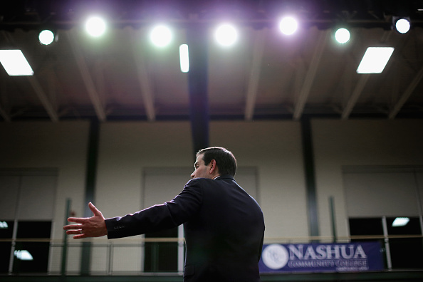 Chip Somodevilla「Marco Rubio Campaigns Ahead Of New Hampshire Primary」:写真・画像(5)[壁紙.com]