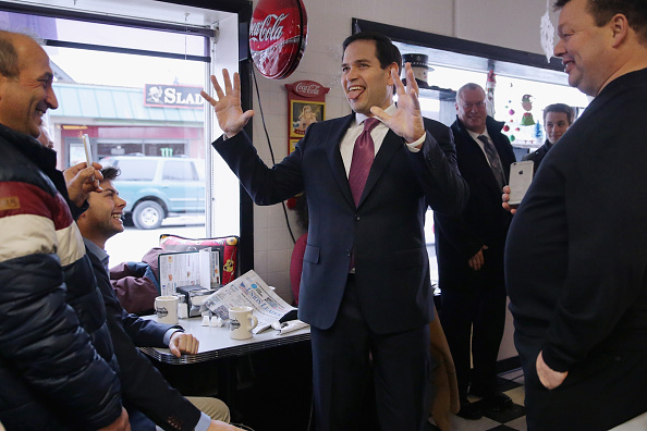 Chip Somodevilla「Marco Rubio Campaigns Ahead Of New Hampshire Primary」:写真・画像(2)[壁紙.com]