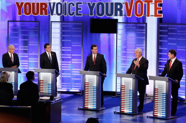 Win McNamee「Republican Debate Held At St. Anselm College In New Hampshire」:写真・画像(7)[壁紙.com]
