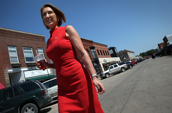 Win McNamee「GOP Presidential Candidate Carly Fiorina Campaigns In Iowa」:写真・画像(4)[壁紙.com]