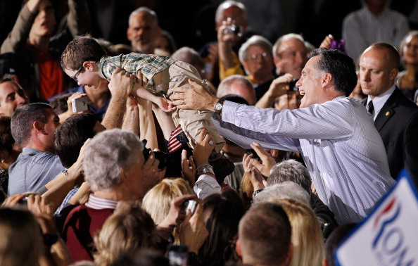 Orlando - Florida「Republican Presidential Candidate Mitt Romney Campaigns In Florida Ahead Of State's Primary」:写真・画像(11)[壁紙.com]