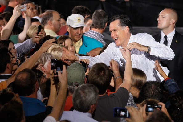 Orlando - Florida「Republican Presidential Candidate Mitt Romney Campaigns In Florida Ahead Of State's Primary」:写真・画像(12)[壁紙.com]