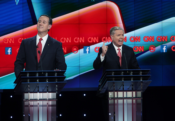 US Republican Party 2016 Presidential Candidate「GOP Presidential Candidates Debate In Las Vegas」:写真・画像(12)[壁紙.com]