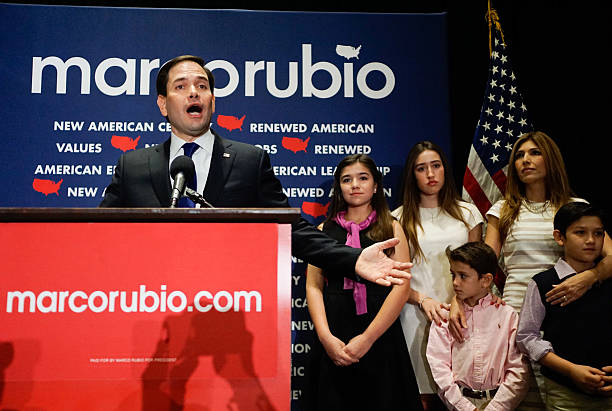 Presidential Candidate Sen. Marco Rubio (R-FL) Holds Primary Night Gathering In Miami:ニュース(壁紙.com)