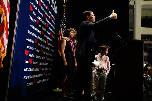 Florida - US State「Presidential Candidate Sen. Marco Rubio (R-FL) Holds Primary Night Gathering In Miami」:写真・画像(17)[壁紙.com]