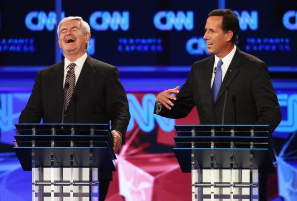 Win McNamee「GOP Presidential Candidates Participate In Debate In Tampa」:写真・画像(0)[壁紙.com]