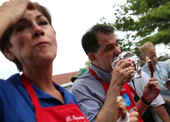Politician「Presidential Candidates Stump At Iowa State Fair」:写真・画像(15)[壁紙.com]