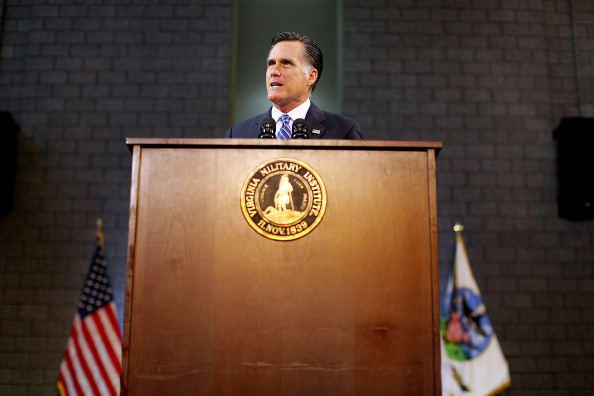Strategy「Republican Candidate Mitt Romney Gives Foreign Policy Speech」:写真・画像(3)[壁紙.com]