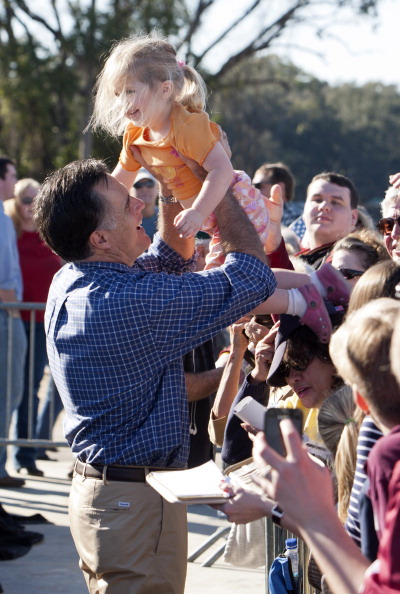 Mark Wallheiser「Mitt Romney Campaigns In Florida's Panhandle」:写真・画像(18)[壁紙.com]
