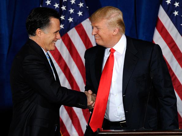 Mitt Romney「Donald Trump Endorses GOP Candidate Mitt Romney In Las Vegas」:写真・画像(7)[壁紙.com]