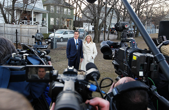 Super Tuesday「Republican Presidential Mitt Romney Votes In The Massachusetts Primary」:写真・画像(10)[壁紙.com]
