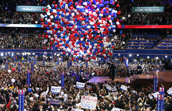 Nomination「Romney Accepts Party Nomination At The Republican National Convention」:写真・画像(11)[壁紙.com]