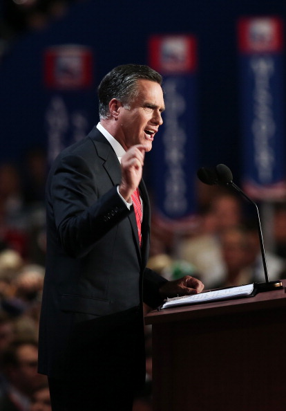 Win McNamee「Romney Accepts Party Nomination At The Republican National Convention」:写真・画像(16)[壁紙.com]