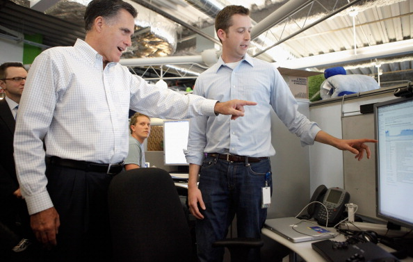 Willy Robinson「Mitt Romney Campaigns In Illinois On Day Of State's Primary」:写真・画像(3)[壁紙.com]