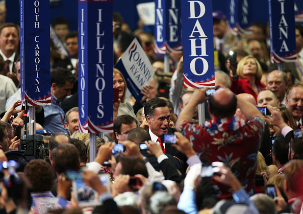 Win McNamee「Romney Accepts Party Nomination At The Republican National Convention」:写真・画像(15)[壁紙.com]