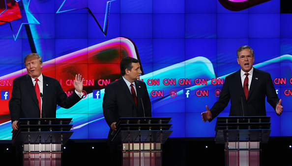 US Republican Party 2016 Presidential Candidate「GOP Presidential Candidates Debate In Las Vegas」:写真・画像(15)[壁紙.com]