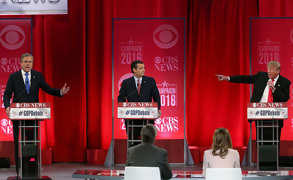 Jeb Bush「Republican Presidential Candidates Debate In Greenville, South Carolina」:写真・画像(8)[壁紙.com]