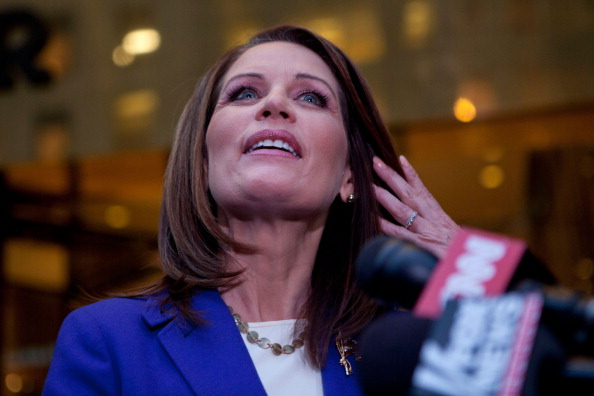 Rubbing「Michele Bachmann Meets With Donald Trump In New York」:写真・画像(7)[壁紙.com]