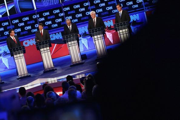 Win McNamee「GOP Presidential Candidates Participate In Debate In Tampa」:写真・画像(4)[壁紙.com]