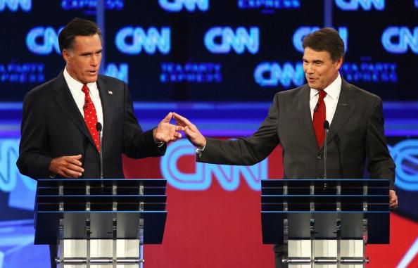 Win McNamee「GOP Presidential Candidates Participate In Debate In Tampa」:写真・画像(2)[壁紙.com]