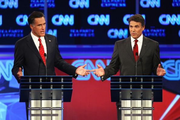 Win McNamee「GOP Presidential Candidates Participate In Debate In Tampa」:写真・画像(1)[壁紙.com]