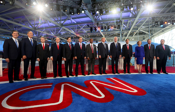 US Republican Party「Republican Candidates Take Part In Debates At Reagan Library In Simi Valley」:写真・画像(12)[壁紙.com]