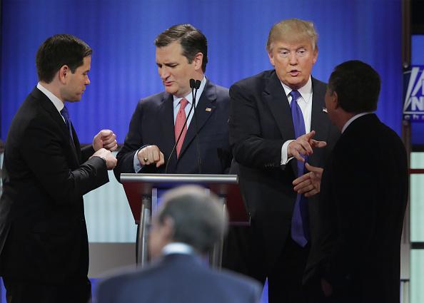 Super Tuesday「GOP Presidential Candidates Debate In Detroit」:写真・画像(15)[壁紙.com]