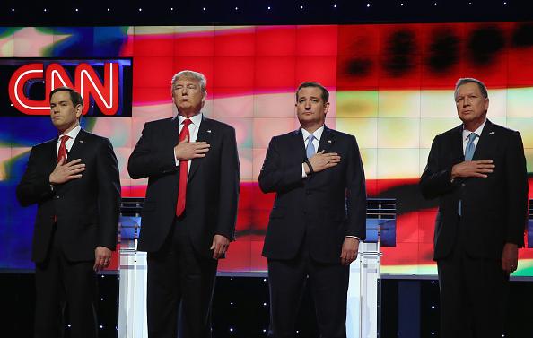 Super Tuesday「Republican Presidential Candidates Debate In Miami Area」:写真・画像(11)[壁紙.com]