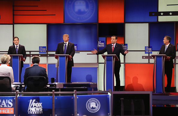 Super Tuesday「GOP Presidential Candidates Debate In Detroit」:写真・画像(12)[壁紙.com]