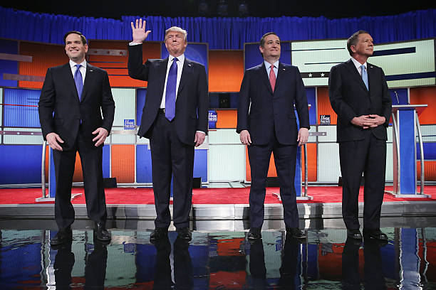 GOP Presidential Candidates Debate In Detroit:ニュース(壁紙.com)